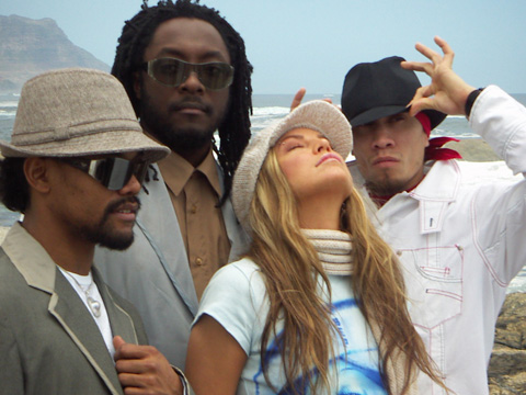 Makeup for Fergie and the Black Eyed Peas